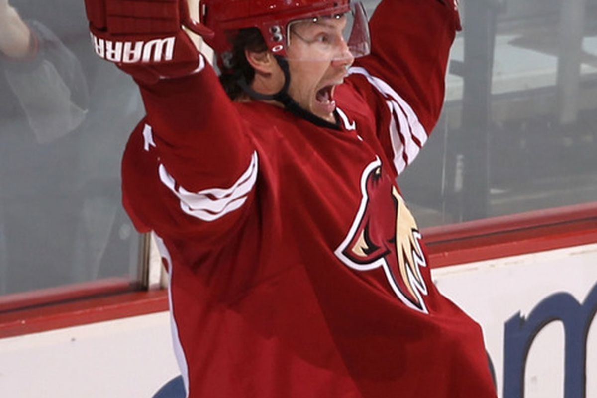 Shane Doan is excited for the season to start too...