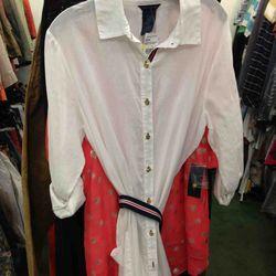 Women's Tommy Hilfiger Shirt Dress $59.96
