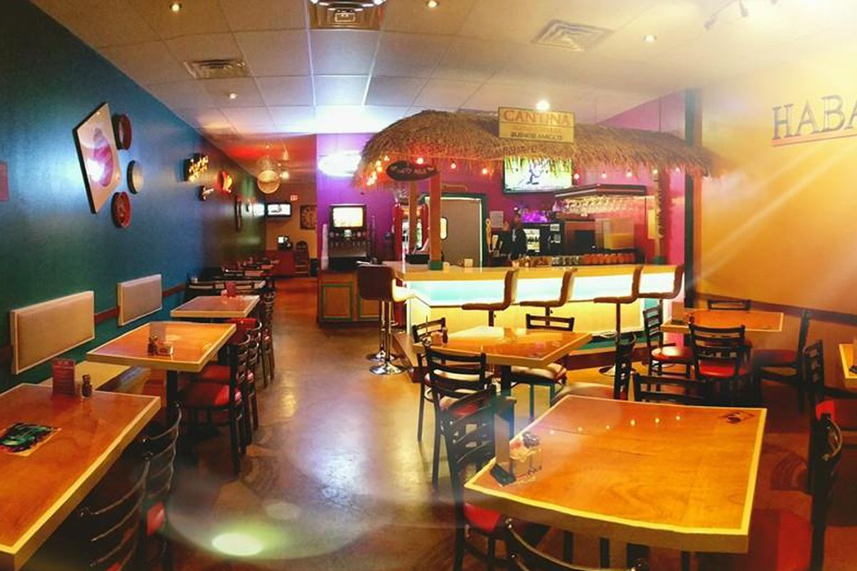 Inside Habanero's in Covington