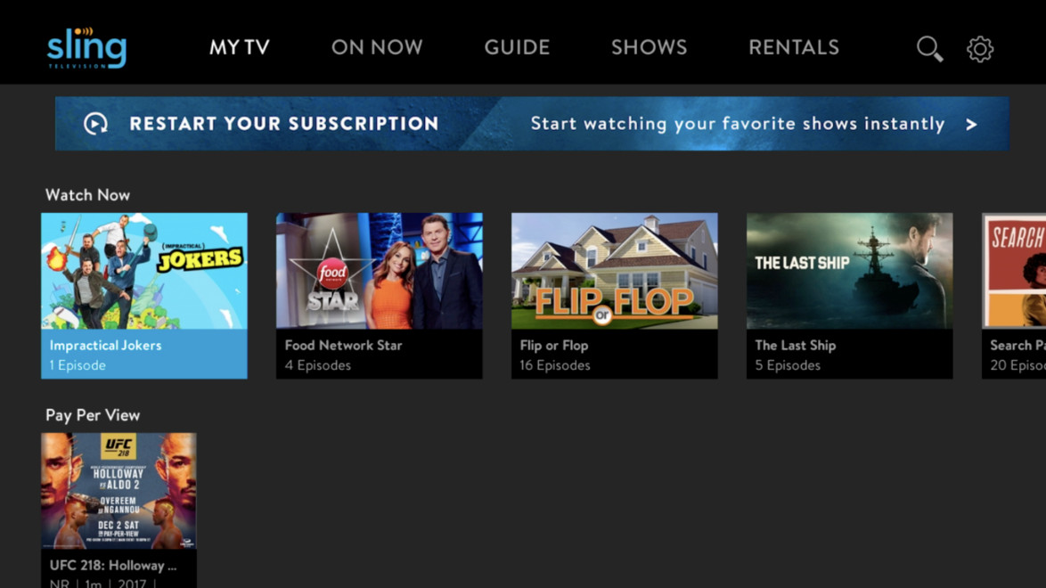 Sling TV is increasing Sling Orange, its channel package with ESPN