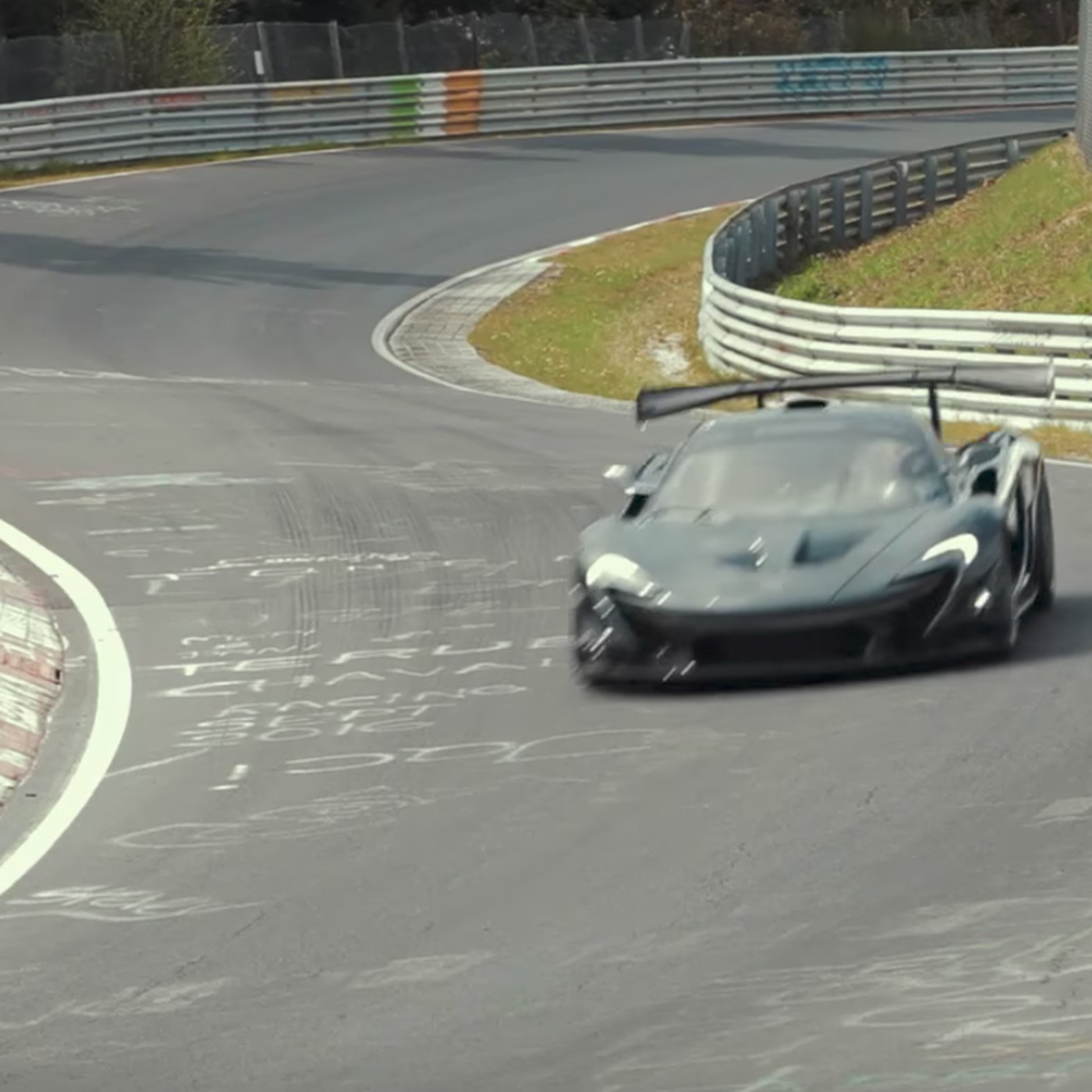 All Electric Supercar Loses The Nürburgring Lap Record To A Hybrid Mclaren Verge