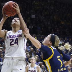 2018 NCAA Women's Basketball Tournament Second Round (Quinnipiac Bobcats vs UConn Huskies)