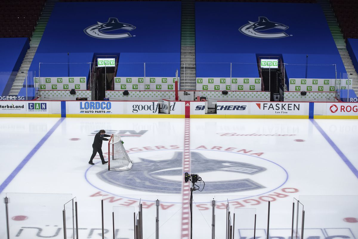 The entire Vancouver Canucks team remains in quarantine after 21 players and four staff members tested positive for COVID-19.
