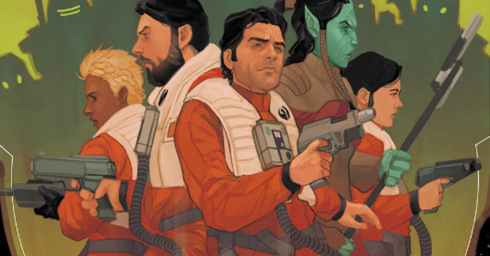 Poe Dameron Star Wars comic explains what happened after The Last Jedi - Polygon