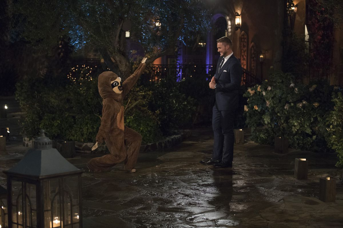 The Bachelor' Recap: A DJ, a Sloth, and a Virgin Walk Into a Mansion