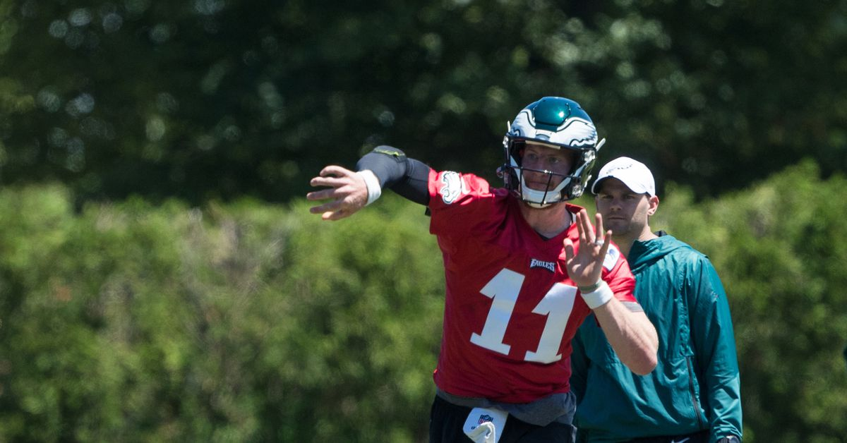 The Linc - NFL executives think Carson Wentz would benefit from tougher coaching