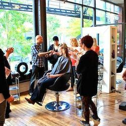 """<a href=""""http://www.mixedcosalon.com/"""">Mixed Co. Salon</a> [223 West Erie Street] specializes in balayage. Head colorist Patrick Ryan—who's been recognized as one of the best in the country by <em>InStyle</em> and <em>Vogue</em>—is the founder of a hair-p"""