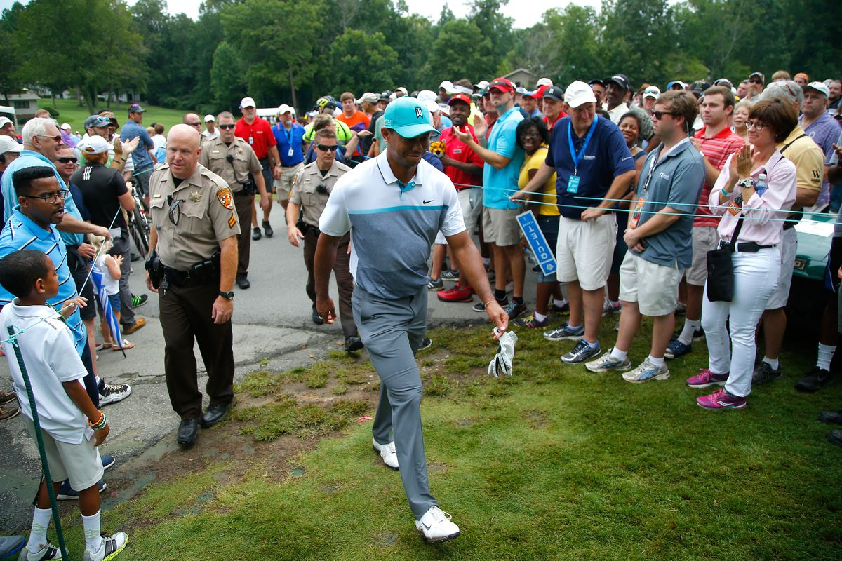 tiger woods demonstrates in greensboro why he u0026 39 s still pga