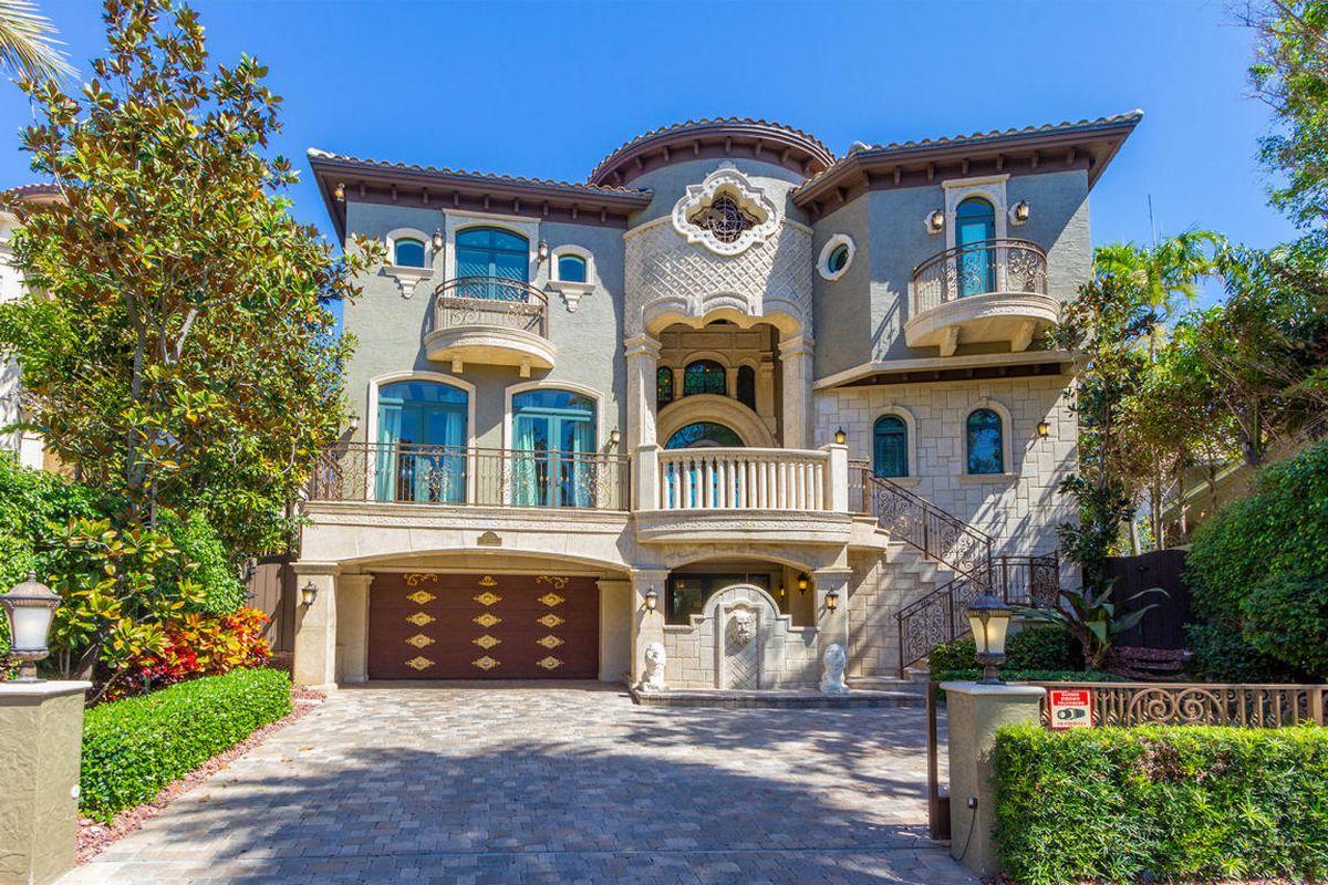 A Mediterranean mansion in Pompano Beach