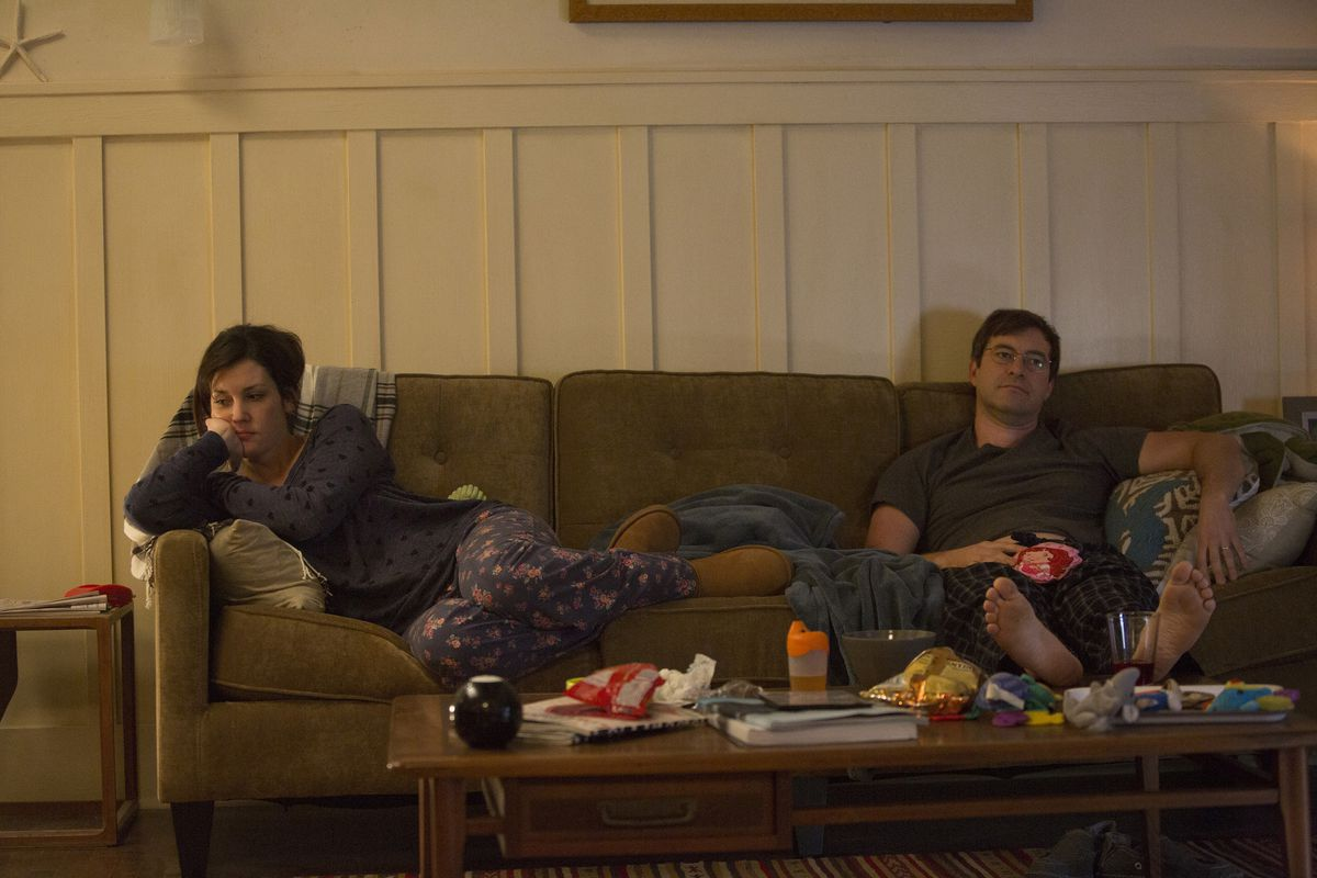Melanie Lynskey and Mark Duplass play a married couple in crisis on Togetherness.