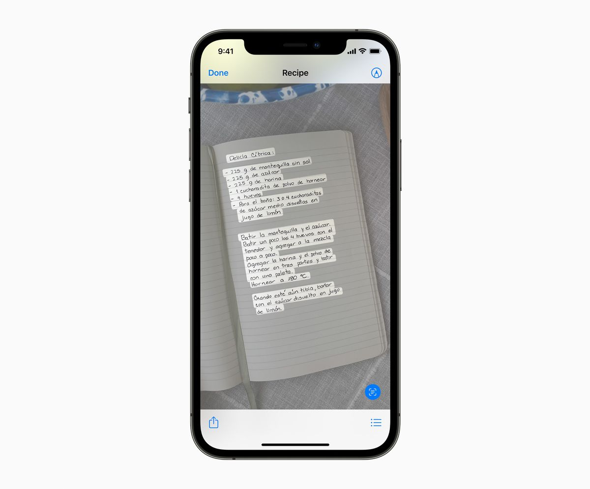 Apple's Live Text is going to read all the text in all your photos with AI