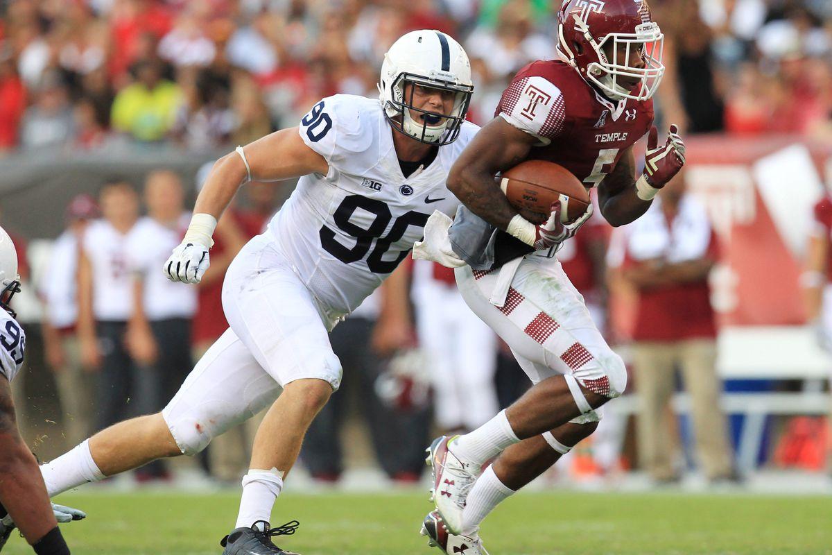 NCAA Football: Penn State at Temple