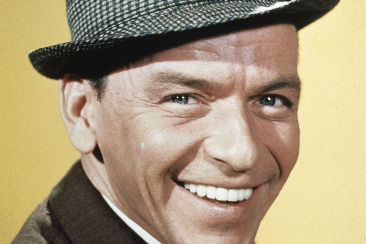 Portrait of Frank Sinatra Smiling