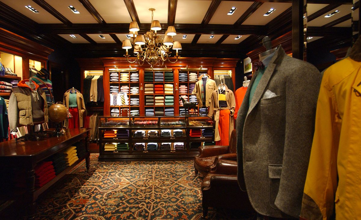 2bc32fd2 A Ralph Lauren store in Milan, Italy. Photo: Giuseppe Cacace/Getty Images