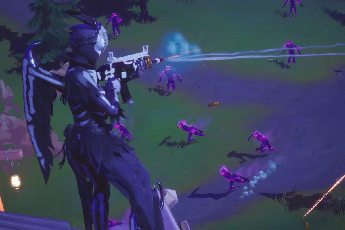 Fortnite S Latest Halloween Mode Turns You Into A Killer Ghost The Verge