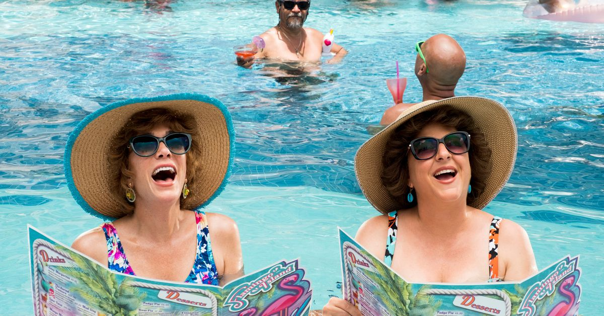 www.vox.com: The fabulous Barb and Star Go to Vista Del Mar recalls a bygone age of wackadoodle comedy