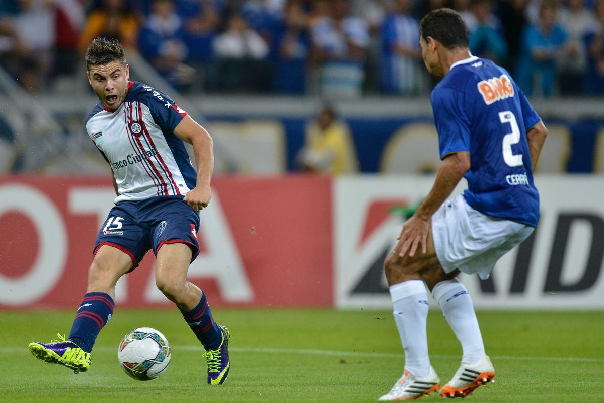 Cruzeiro v San Lorenzo - Copa Bridgestone Libertadores 2014 Quarter Final