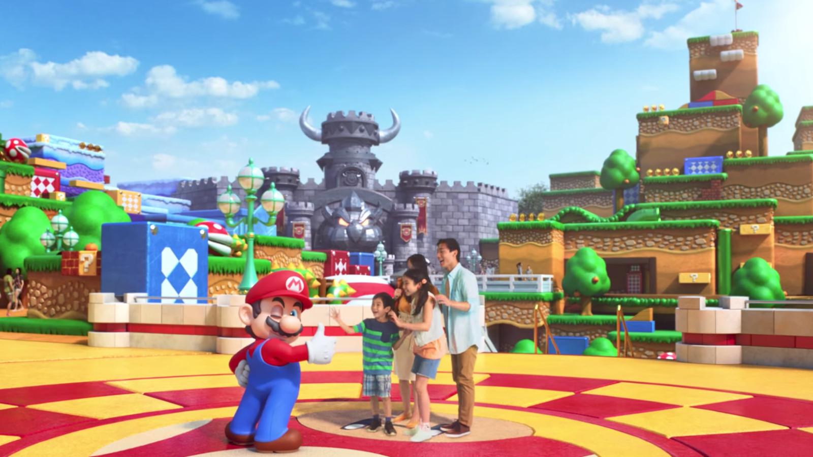 This teaser for universal studios japan s super mario for Super studio