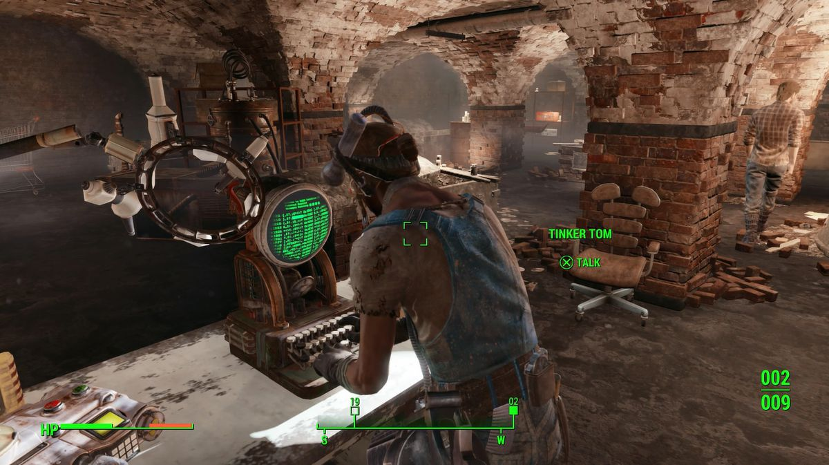 Fallout 4 the molecular level walkthrough polygon talk to the railroads resident scientist tinker tom who will be able to analyze the courser chip solutioingenieria Choice Image