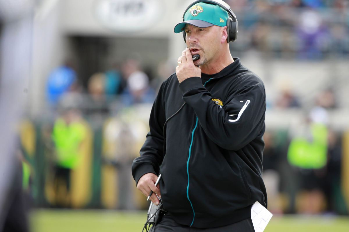 "Gus Bradley: ""As far as defensive coordinator candidates ..."