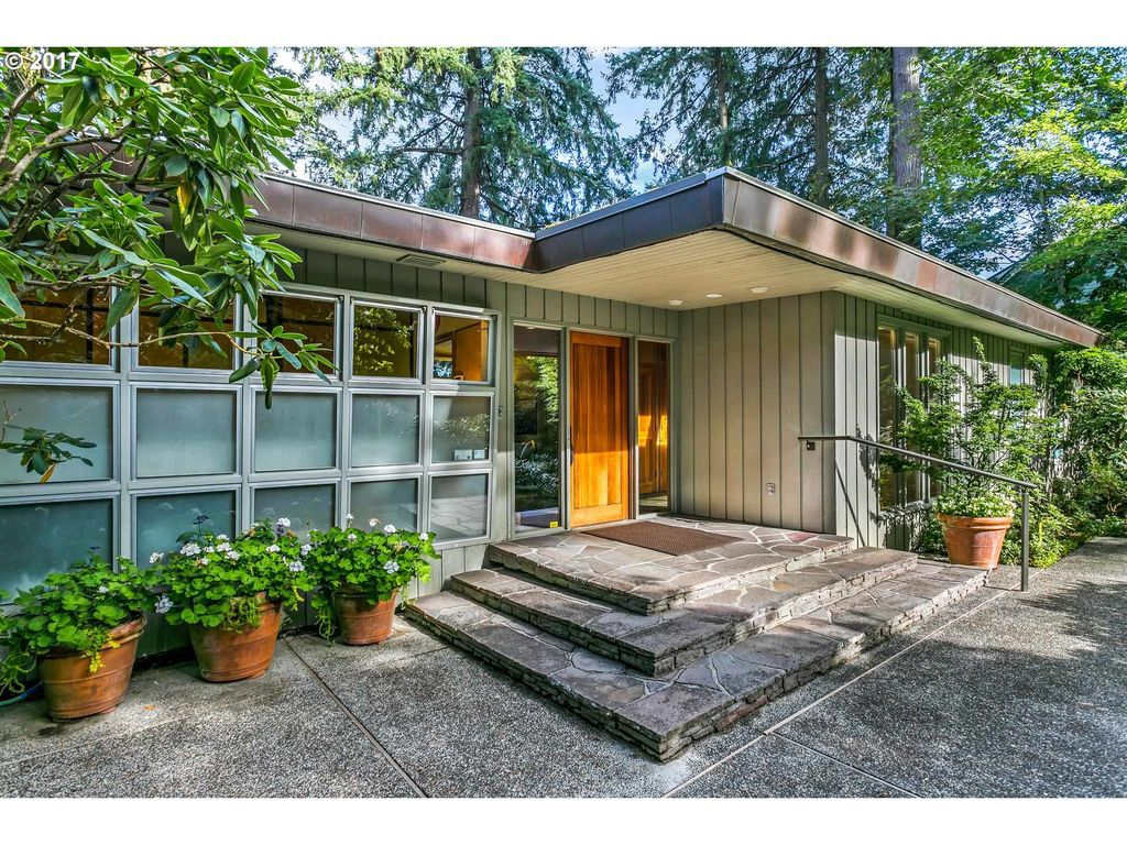 Gorgeous Midcentury Home Surrounded By Japanese Gardens Asks 1 8m