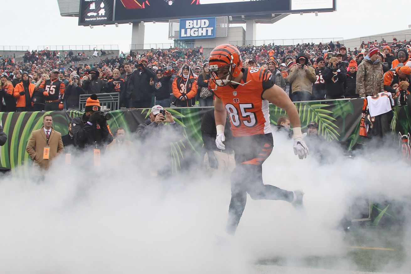 What is the Bengals' biggest free agency decision?