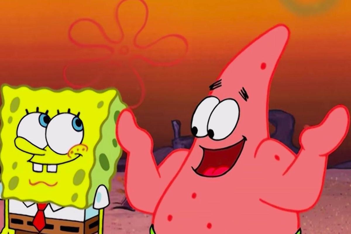 Patrick Star and SpongeBob Squarepants talk
