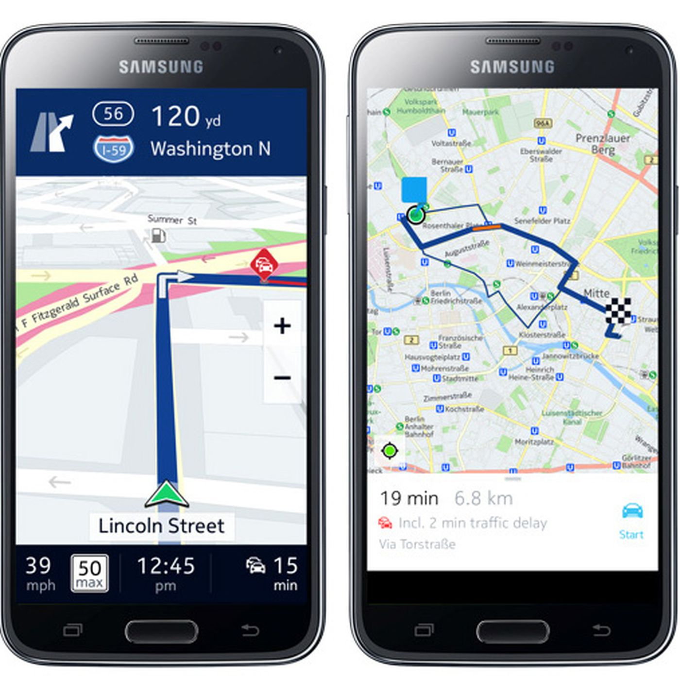 Samsung navigates away from Google with Here maps for Galaxy phones on google maps screenshot, google maps path, google maps update,