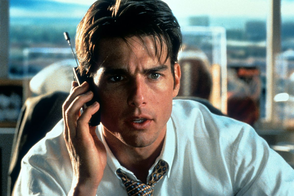 Tom Cruise In 'Jerry Maguire'