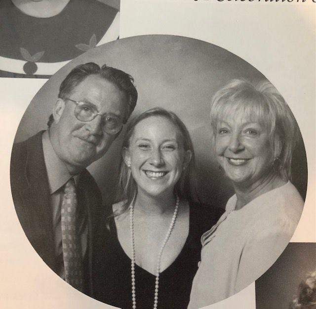 Vanessa Kolpak and her parents Paul and Vivian Kolpak.