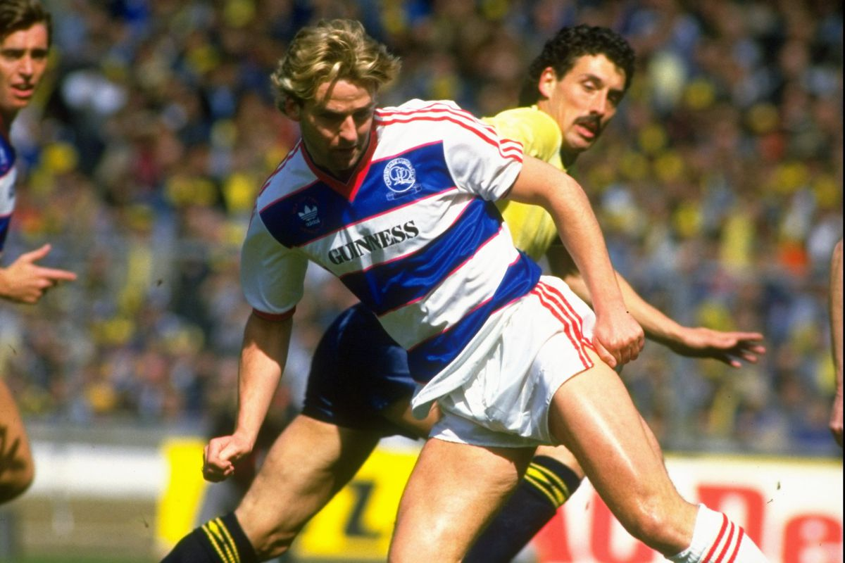 John Trewick of Oxford and John Byrne of Queens Park Rangers