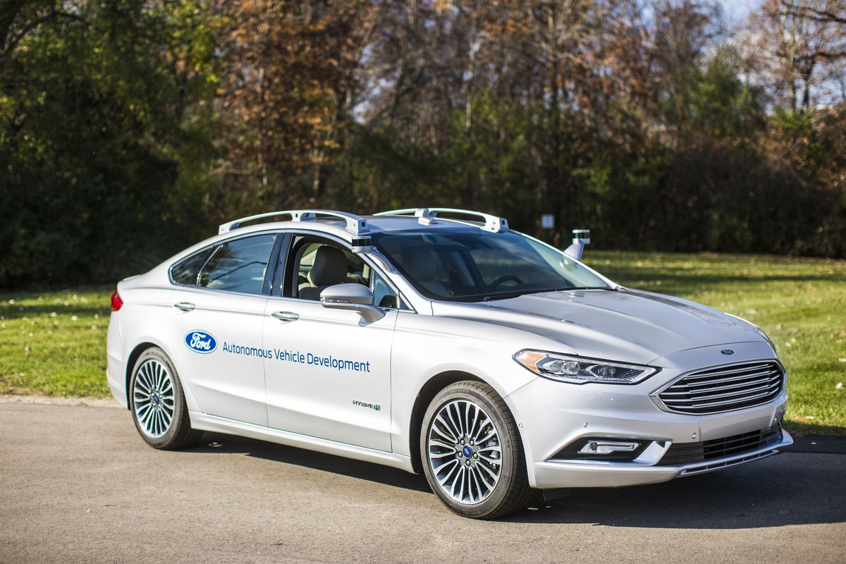 Ford revs up self-driving auto and smart city plans