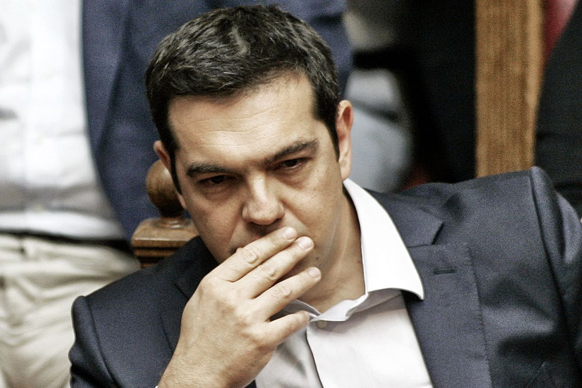 Greek membership in the euro has been a disaster, and Greek prime minister Alexis Tsipras has to figure out Greece's next step.
