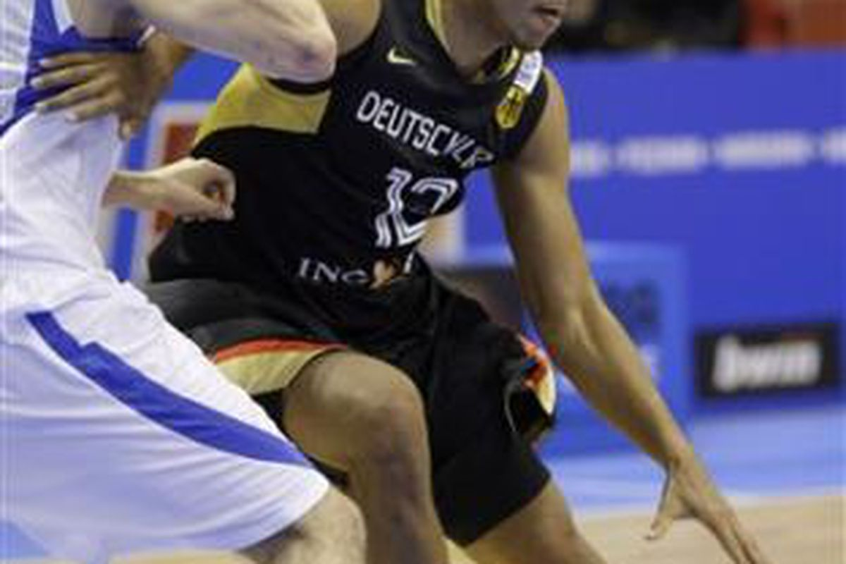 Gonzaga's Elias Harris continues to impress onlookers at the 2009 Senior Eurobasket tournament in Poland.
