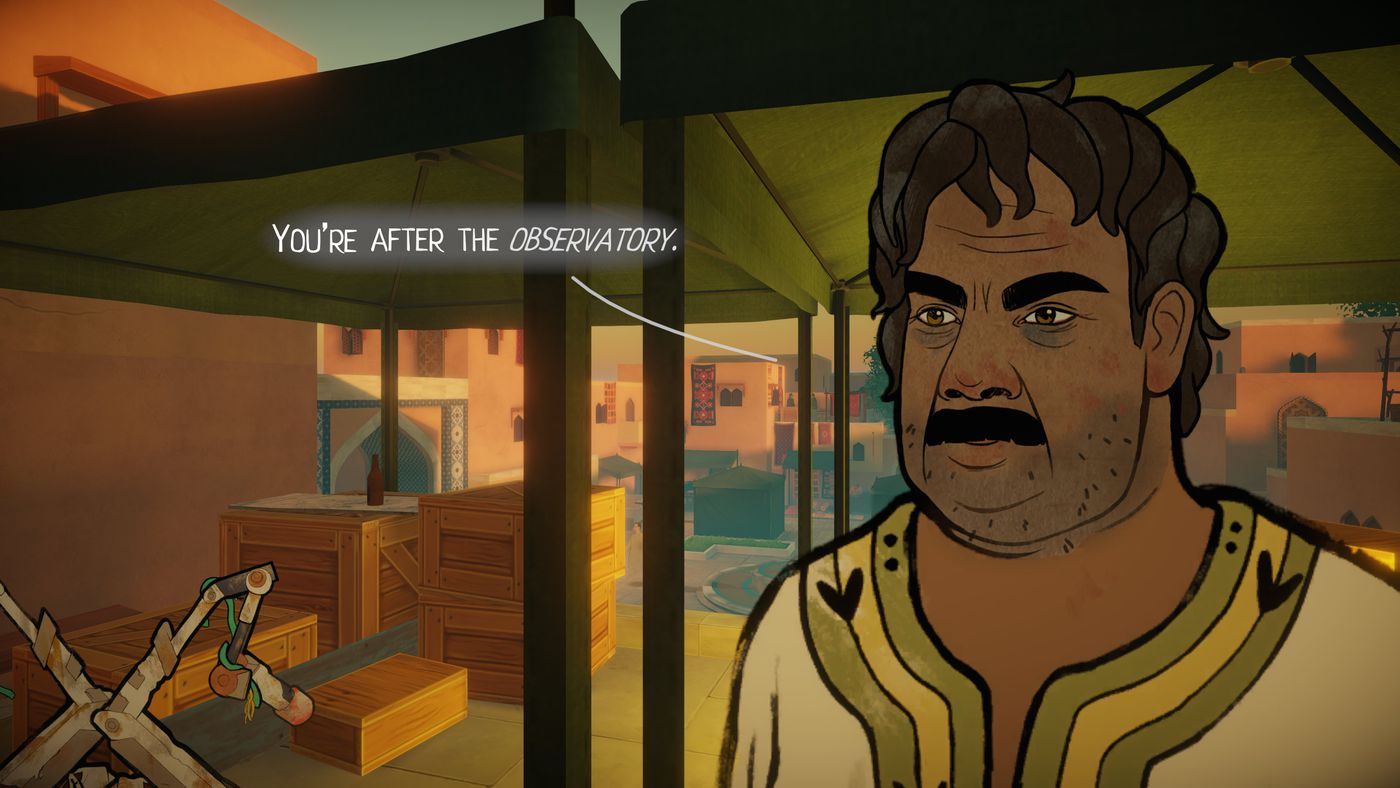 Heaven's Vault review: Imagine an archaeology video game without