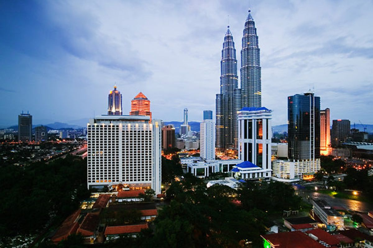 The Petronas Towers have become a national symbol for Malaysia, and are two of the tallest buildings in the world.