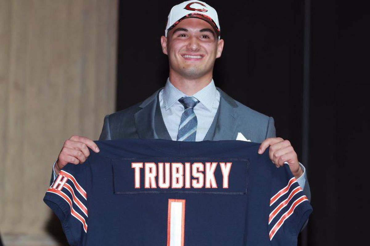Bears At 49ers Revisiting The Bears Bold Trade For Mitch Trubisky