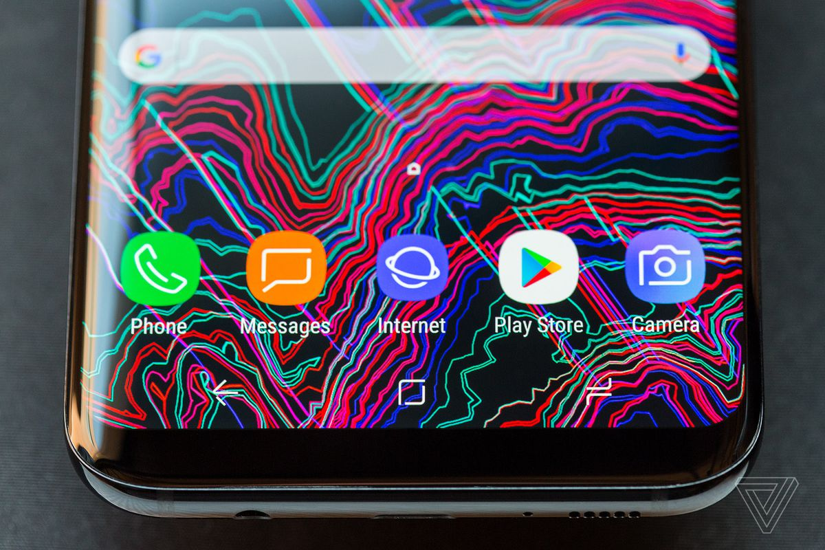 Samsung Galaxy S8 Review Ahead Of The Curve Verge Aluminum Based Printed Circuit Boards For Led Lighting Buy Because Screen Dominates Front Device There Is No Room Samsungs Traditional Home Button