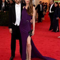 Emanuel Michael and model Sandrina Bencomo