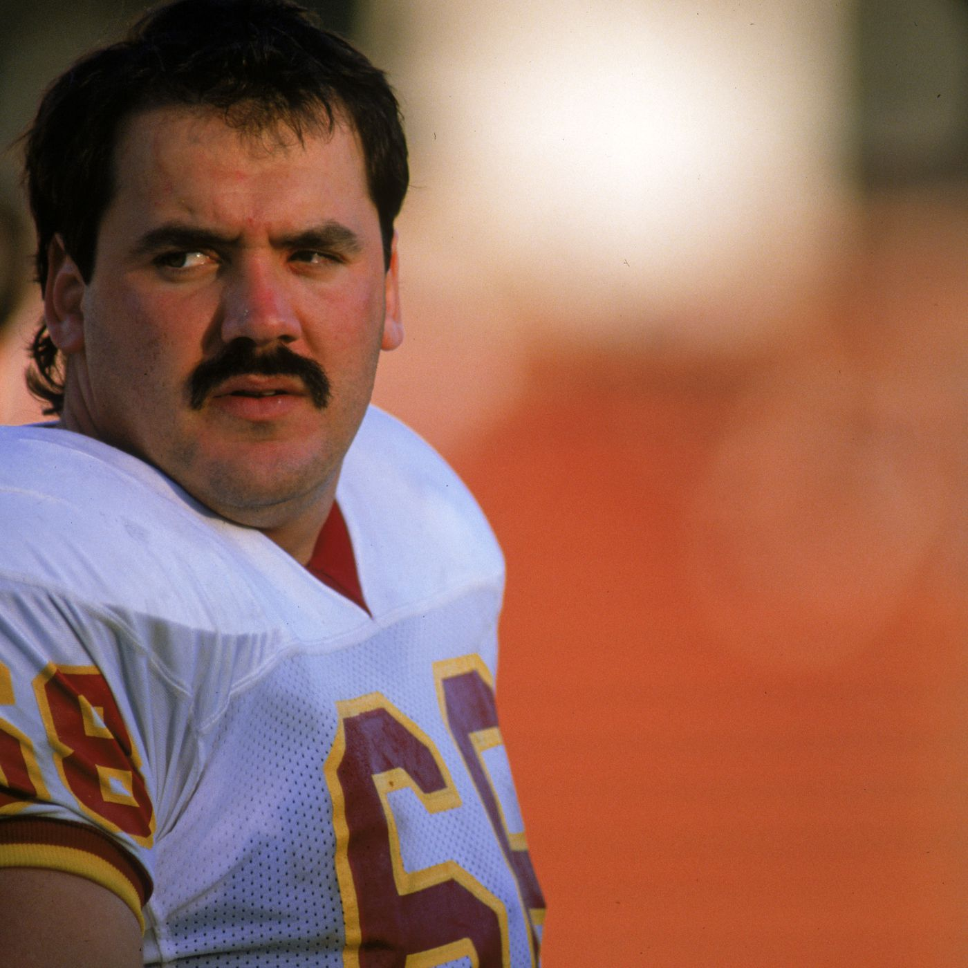 super popular 0d694 121ab Redskins by the (Jersey) Numbers: #68 - Russ Grimm - Hogs Haven