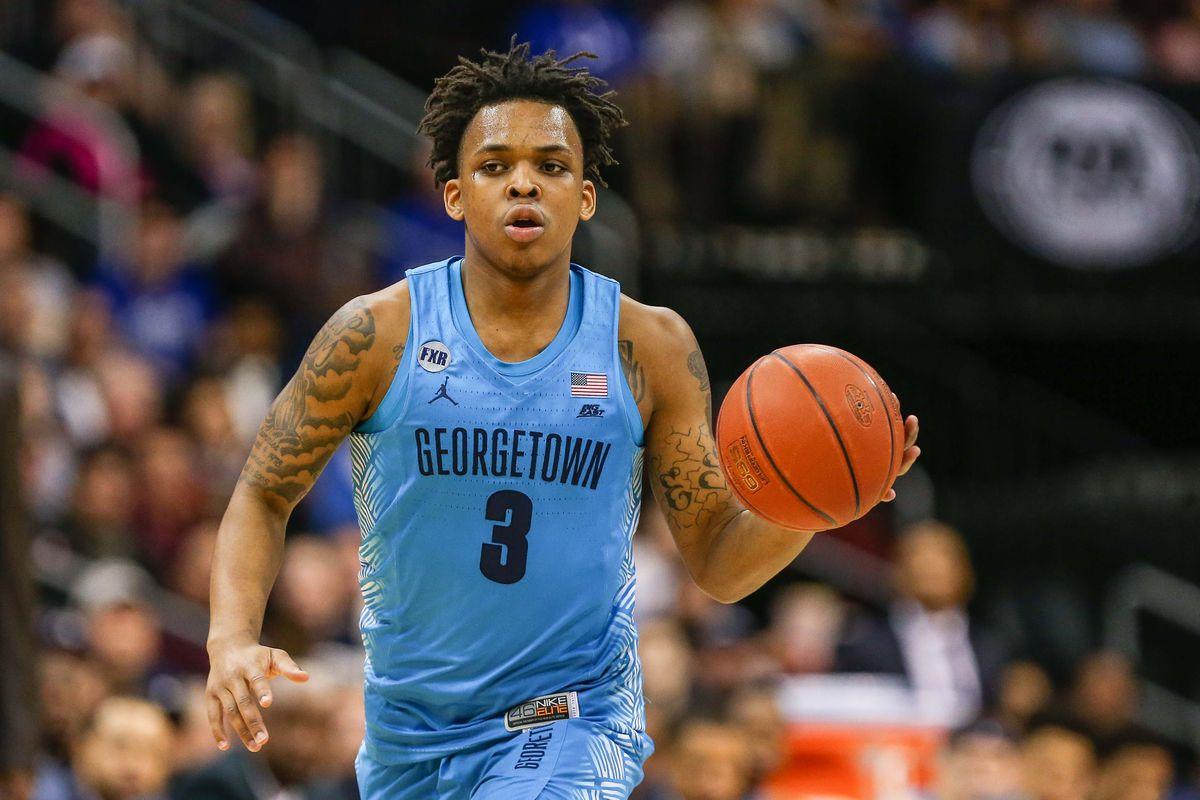NCAA Basketball: Georgetown at Seton Hall
