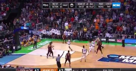 Loyola Chicago hit a buzzer-beater for March Madness' first upset