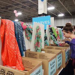 Murfee scarves were priced at $39—$59.