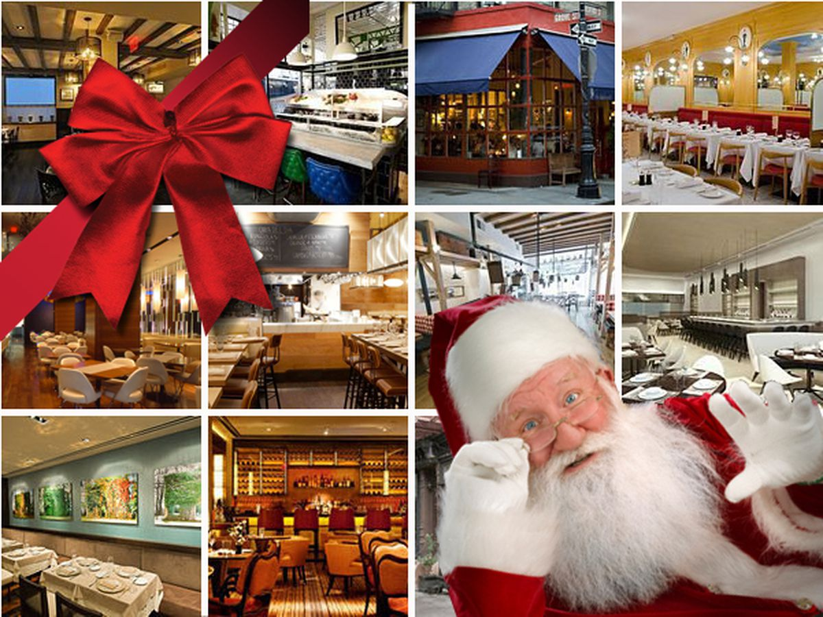Where to Eat on Christmas Day in New York City