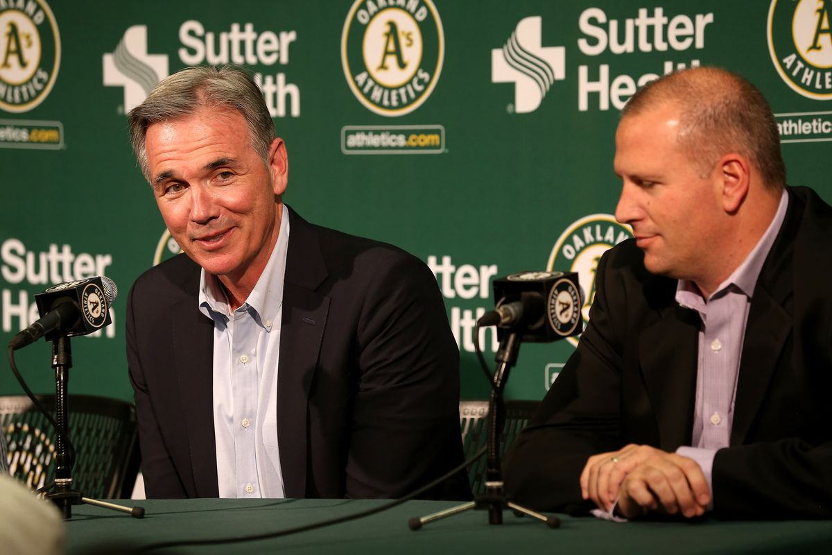 Oakland Athletics Press Conference