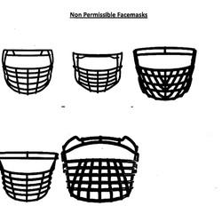 Non Permissible Facemasks