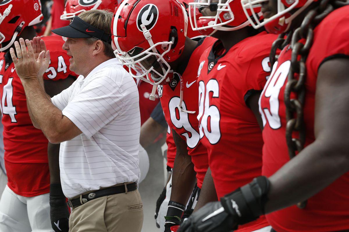 NCAA Football: Arkansas at Georgia