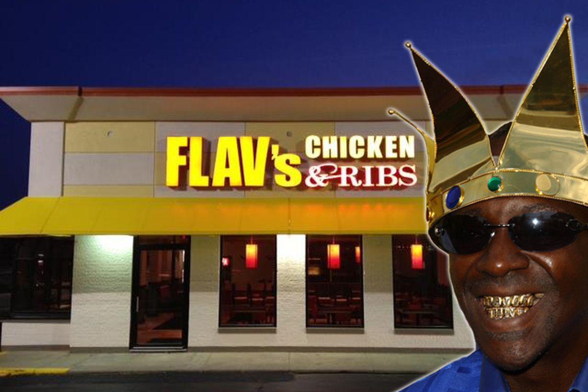 Flav's Chicken & Ribs, Sterling Heights, Michigan.