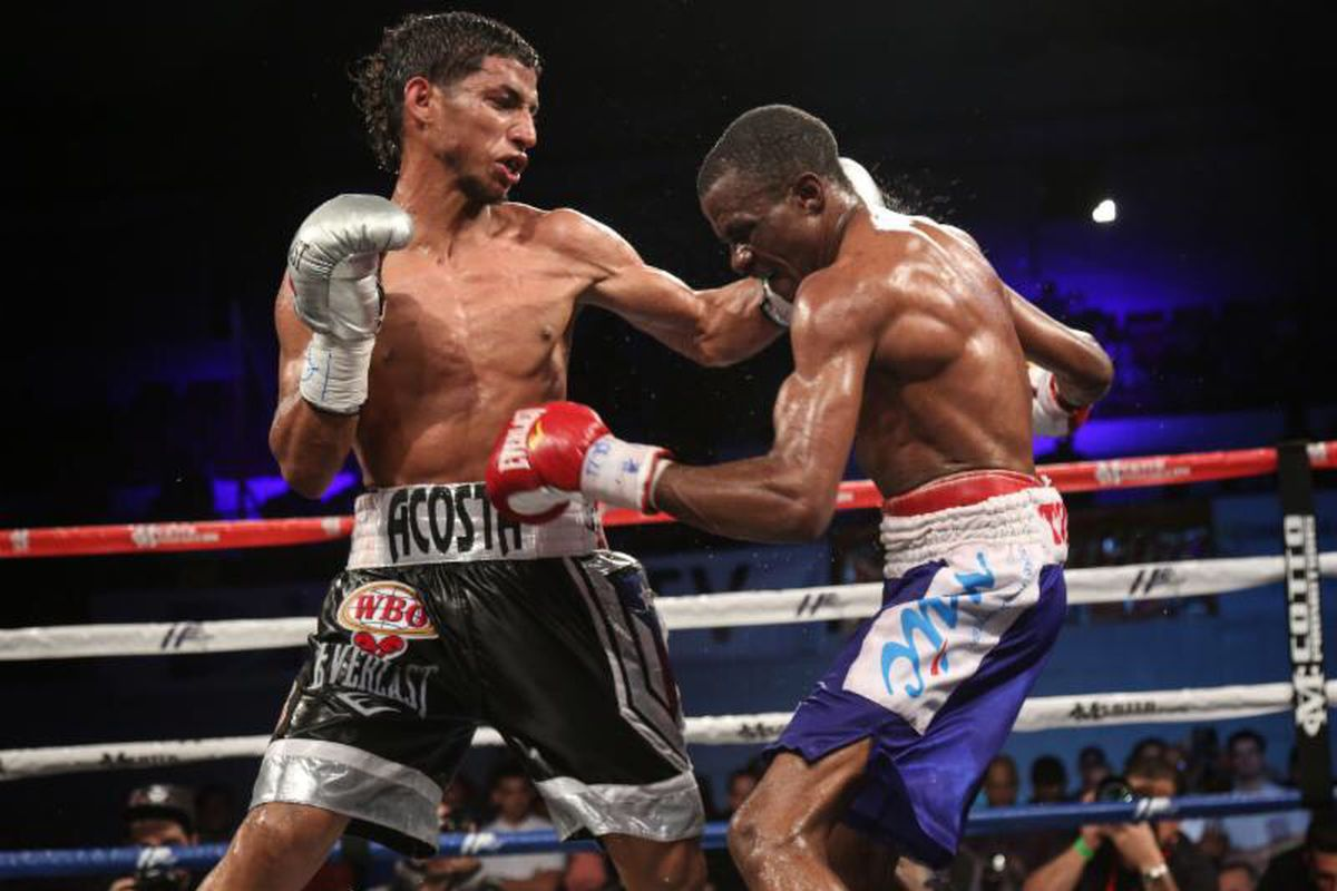 Angel acosta top prospects to feature on march 30 dazn - Hector santos ...