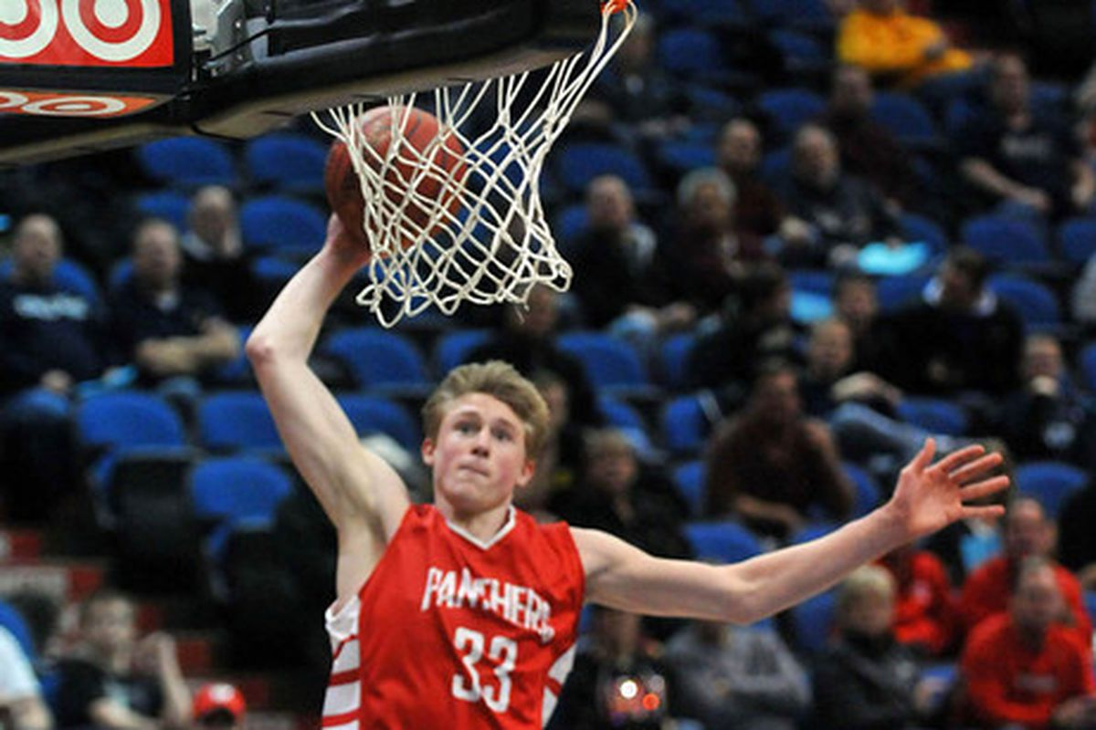JP Macura showing that he is more than just a shooter